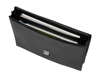 Attache case CLASSICO-BAG noir - Vue n° 1