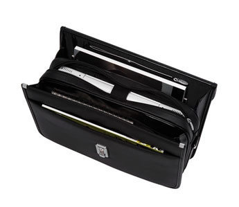 Attache case SILVER-LINE BAG noir - Vue n° 1
