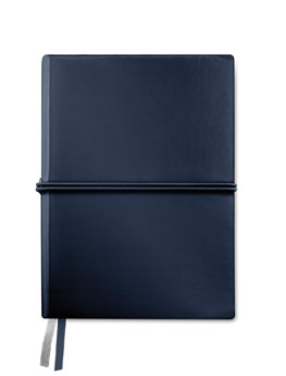 Carnet de notes A5 en PU souple grainé -