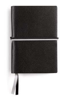 Carnet de notes A6 en PU souple grainé -