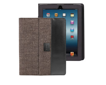 Porte iPad en PET 700D et jute -