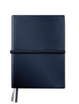 bleu - Carnet de notes A5 en PU souple grainé