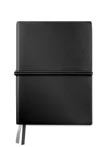 noir mat - Carnet de notes A5 en PU souple grainé
