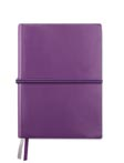 violet - Carnet de notes A5 en PU souple grainé