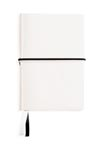 blanc - Carnet de notes A6 en PU souple grainé