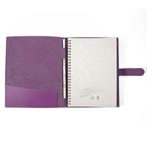 Conferencier-a4-en-cuir-recycle-violet